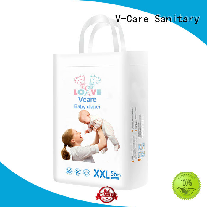 V-Care newborn diapers factory for sale