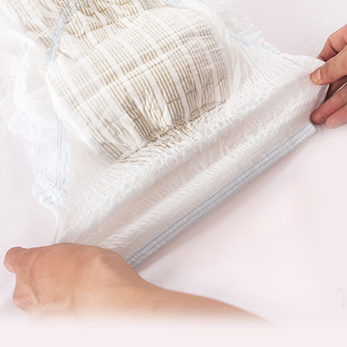 3. Ring waist elastic display