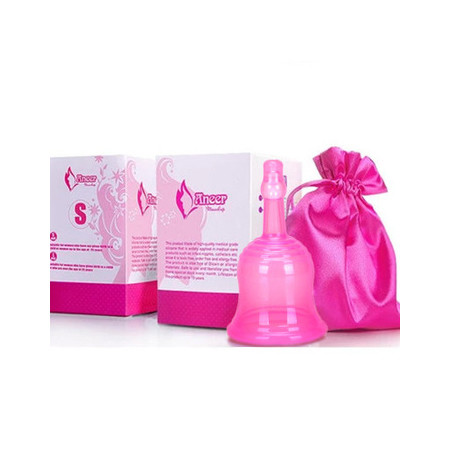 3. Menstrual cup size display