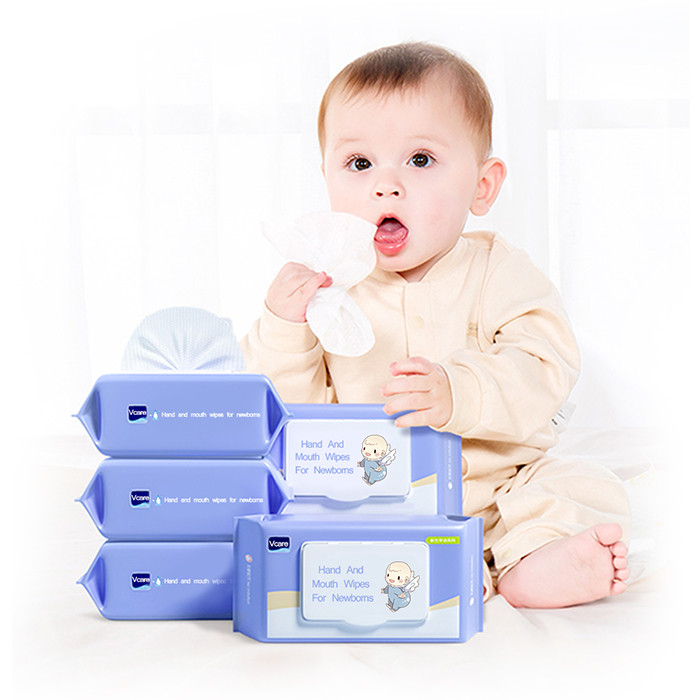 OEM Alcohol Free Baby Wet Wipes Wholesale Supply