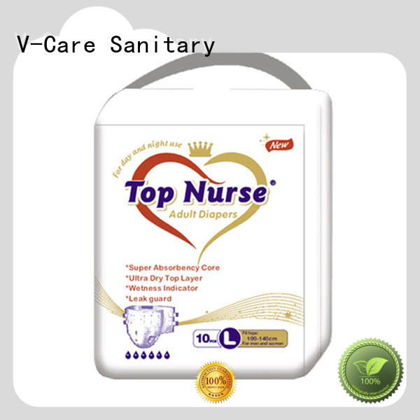 V-Care factory price new adult diapers factory for men