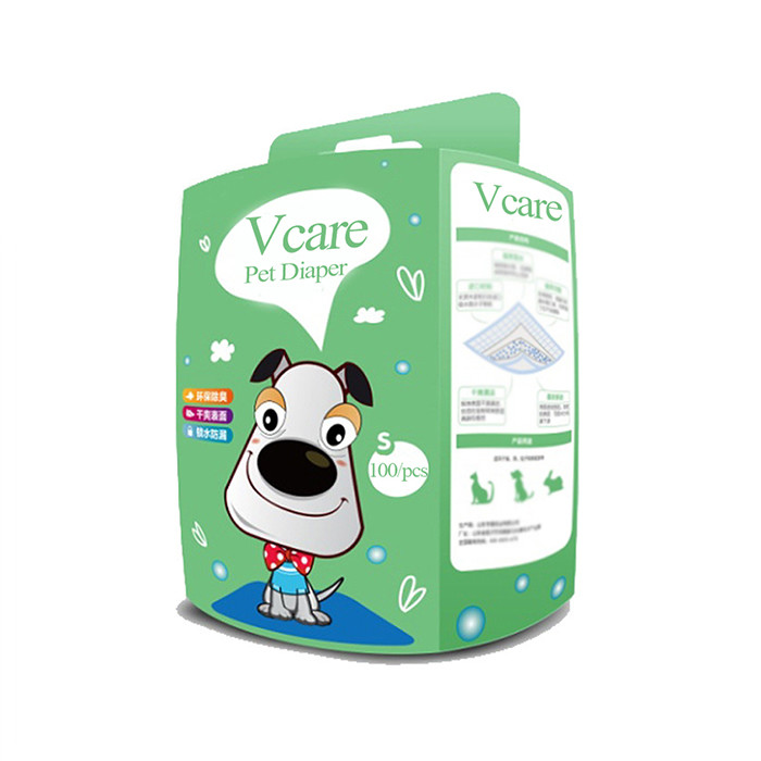 Dog male biodegradable diapers in bulk, disposable pet nappies with oem