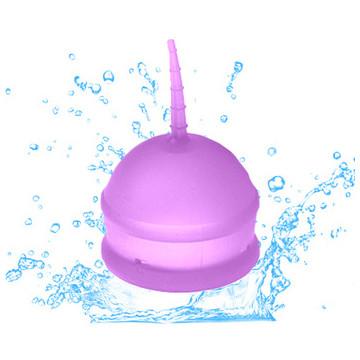 2. Menstrual cup display