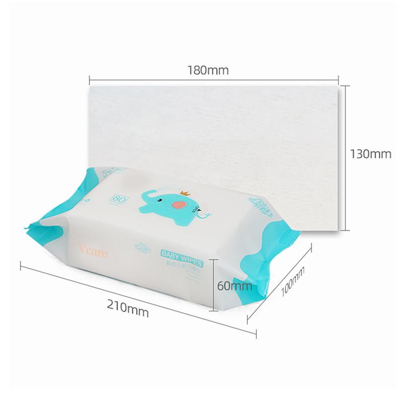 2. Detail display of wipes.