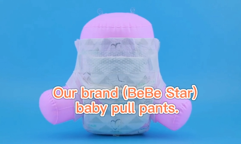 Super soft pull-up pants, take care of your baby's small stomach