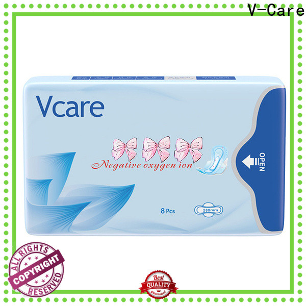 custom latest sanitary pads with custom services for ladies