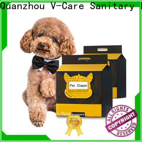 wholesale disposable pet diapers supply for pets