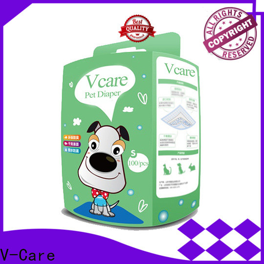 V-Care quality diapers for pets factory for pets