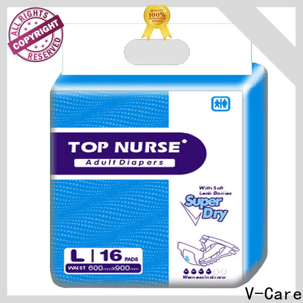 V-Care comfortable adult diapers supply for sale