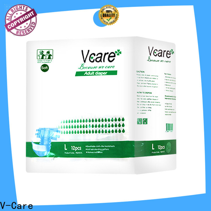 V-Care custom new adult diapers manufacturers for sale