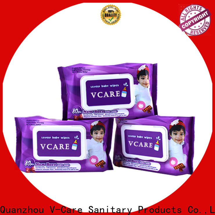V-Care cheap wet wipes factory for baby