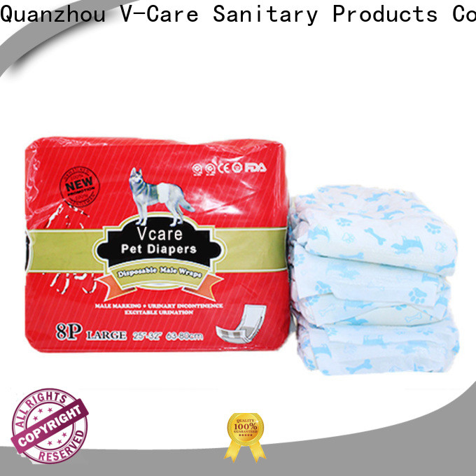 V-Care disposable pet diapers factory for dogs