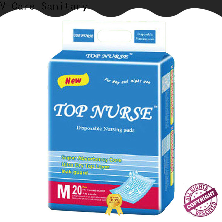 V-Care top underpads for business for nursing
