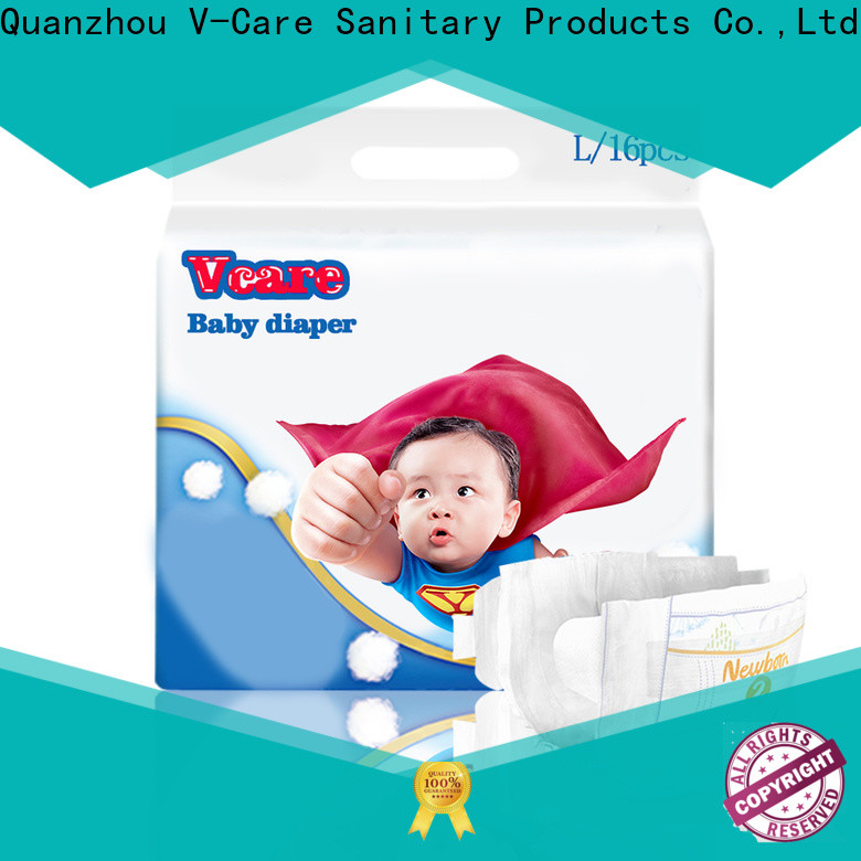 V-Care latest cheap baby diapers company for sleeping