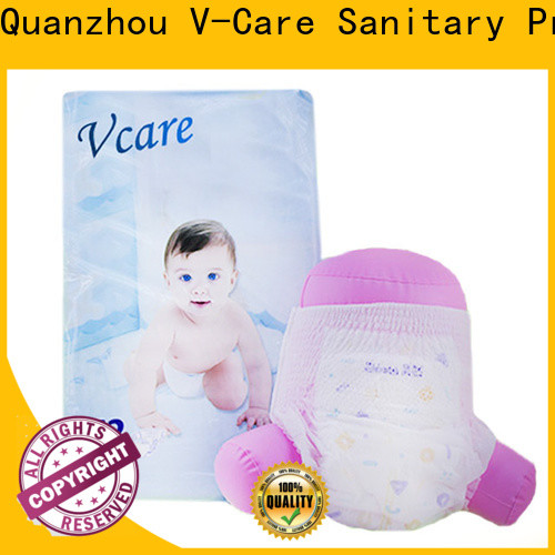 V-Care quality baby diaper pull ups suppliers for sleeping