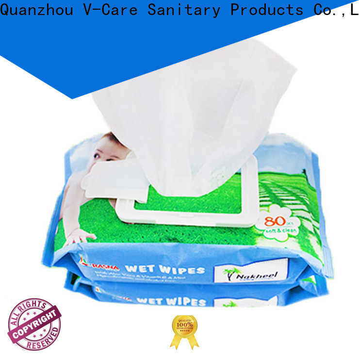 V-Care high-quality wet wipes manufacturer company for women