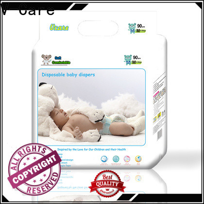 V-Care disposable baby nappies factory for baby