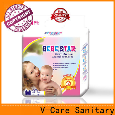 V-Care high-quality cheap newborn diapers for business for baby