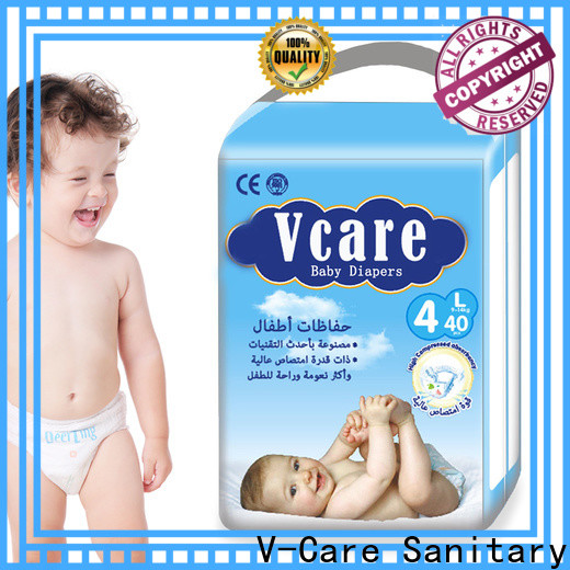 V-Care wholesale best newborn baby nappies manufacturers for sale