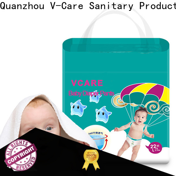 V-Care breathable cheap baby diapers company for baby