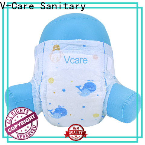V-Care hot sale best newborn baby nappies factory for sleeping