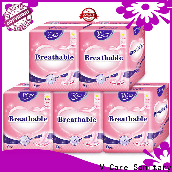 V-Care disposable sanitary napkins company for business