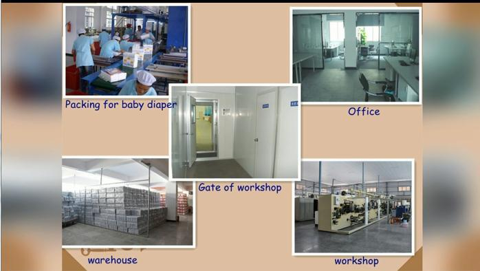 Quanzhou Vcare China's leading enterprise-specialized in the production of diapers and sanitary napkins.