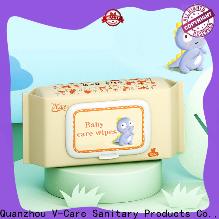 V-Care wet wipes manufacturer factory for women