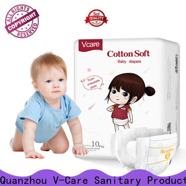 V-Care best cheap baby diapers suppliers for baby