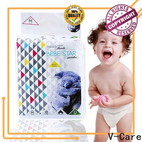 V-Care disposable baby nappies factory for sale
