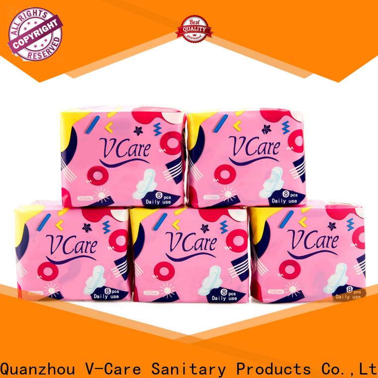V-Care custom best sanitary towels manufacturers for sale