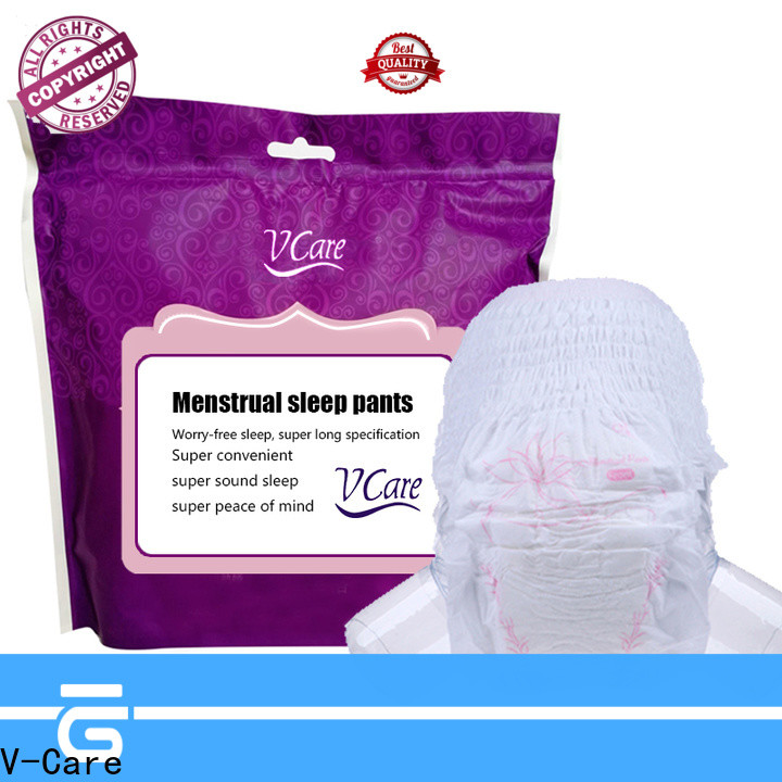 V-Care best sanitary napkin pants with custom services for business