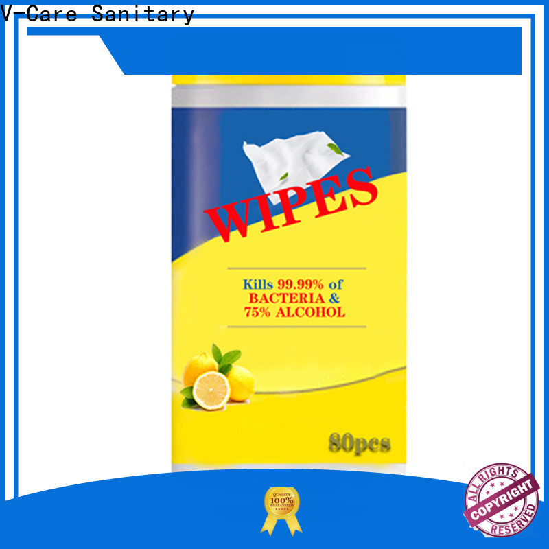 V-Care latest wet wipes manufacturers for adult