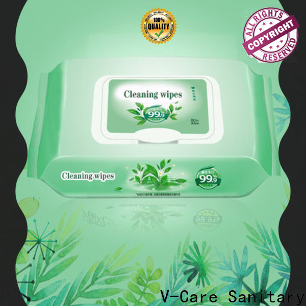 V-Care top cheap wet wipes supply for adult