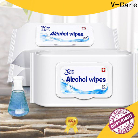 V-Care wholesale water wet wipes factory for baby