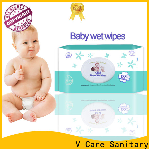 V-Care new bulk wet wipes supply for baby