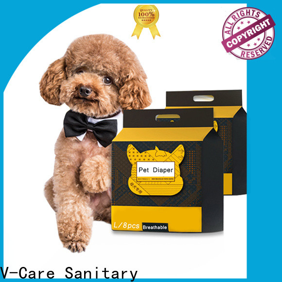 V-Care custom pet sanitary pads supply for sale