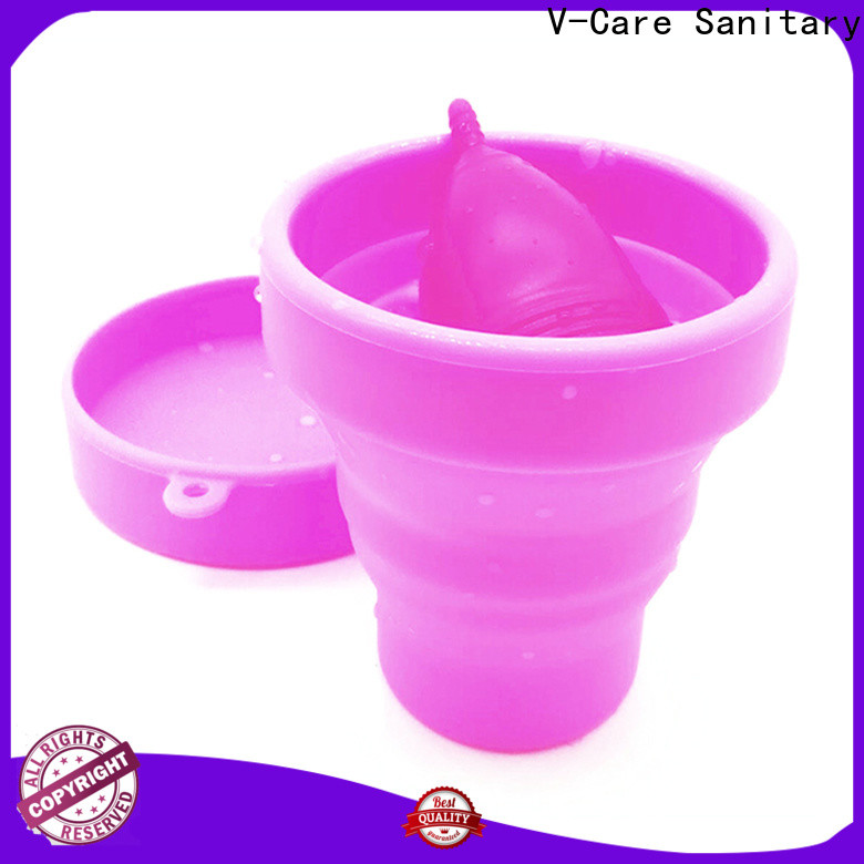 V-Care wholesale cheap menstrual cup manufacturers for business