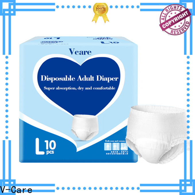 V-Care absorbency best adult pull ups factory for adult