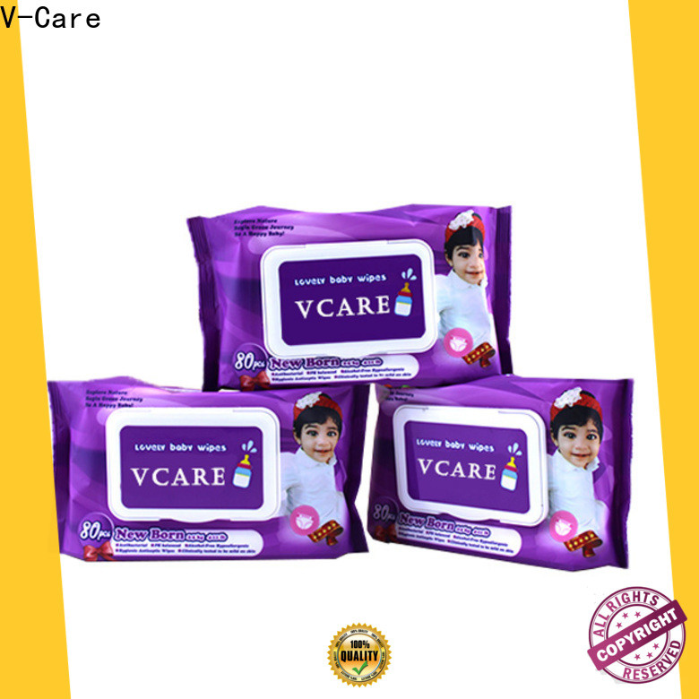 V-Care latest wet wipes manufacturer suppliers for adult