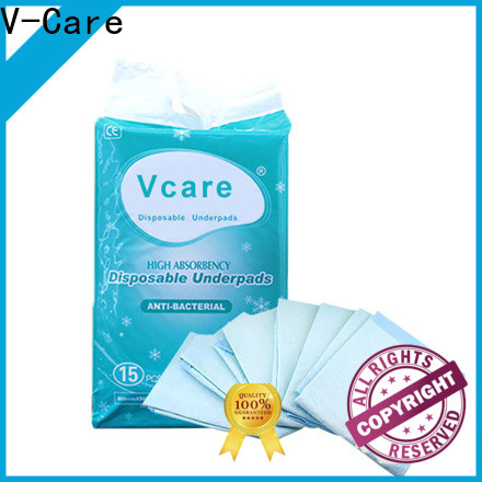 V-Care latest underpad company for old people