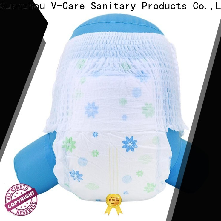 V-Care custom infant nappies factory for sale