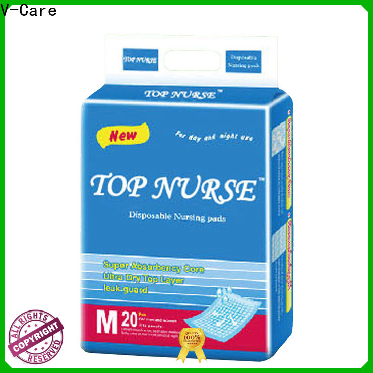 V-Care custom underpads wholesale company for old people