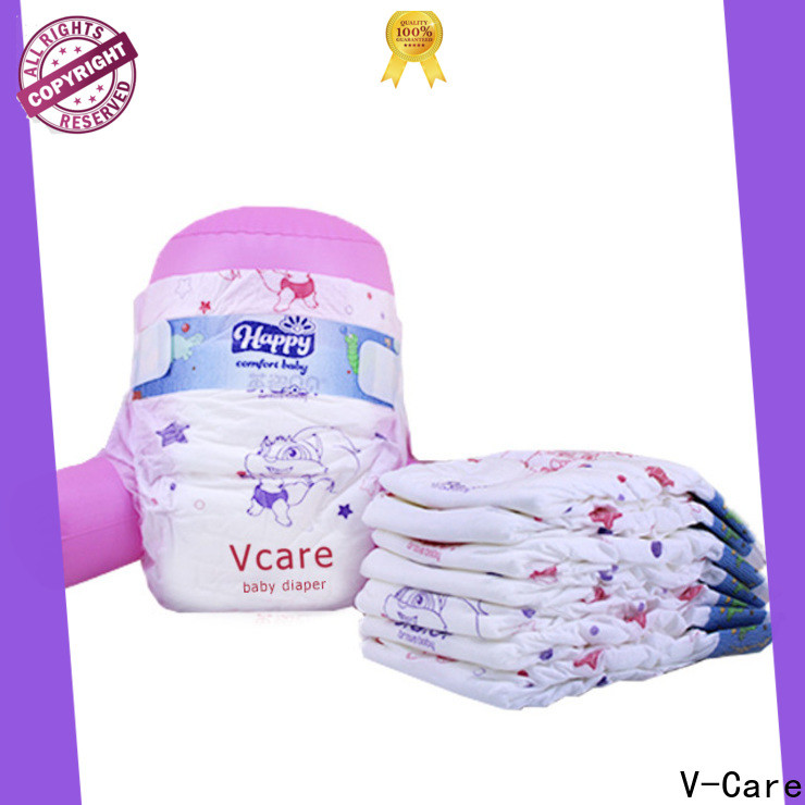 V-Care breathable born baby diaper suppliers for sale