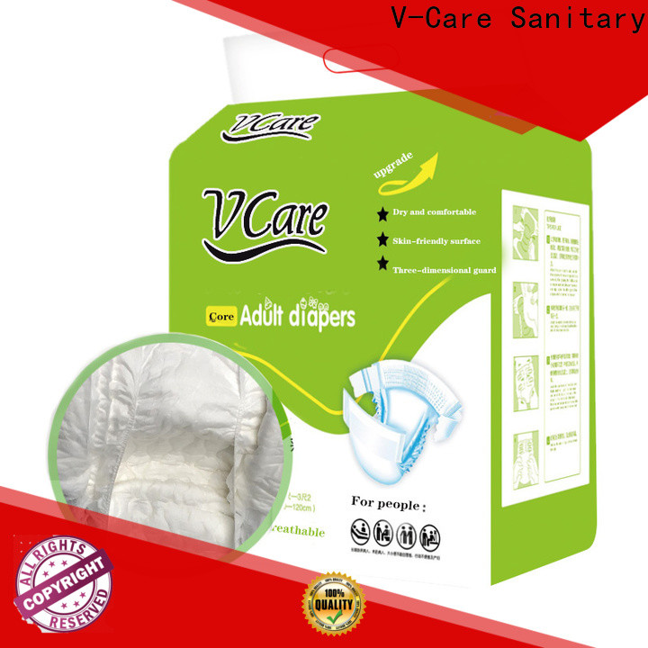 V-Care fast delivery new adult diapers suppliers for adult