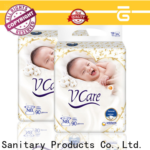 V-Care custom top baby diapers manufacturers for baby