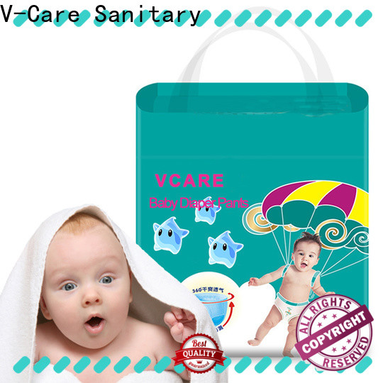 V-Care breathable good baby diaper suppliers for sleeping