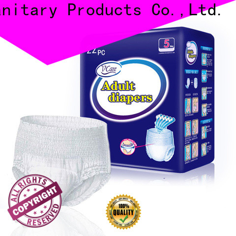 V-Care new comfortable adult diapers suppliers for adult