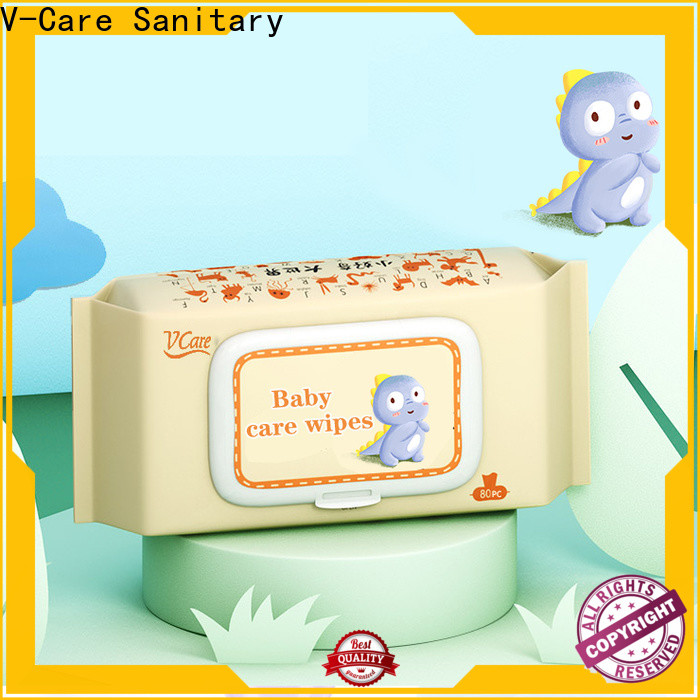 V-Care bulk wet wipes manufacturers for adult