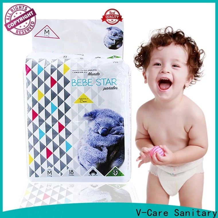 V-Care high-quality good baby nappies manufacturers for infant